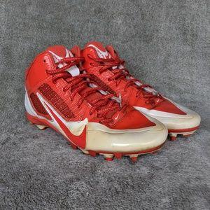 Nike Men's Alpha Pro Flywire 3/4 Football Cleats